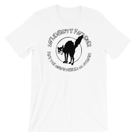 Solidarity Forever - IWW Sabo-Tabby T-Shirt