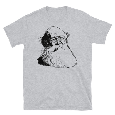 Peter Kropotkin Sketch - Anarchist, Socialist, Anarcho-Communist, Philosopher T-Shirt