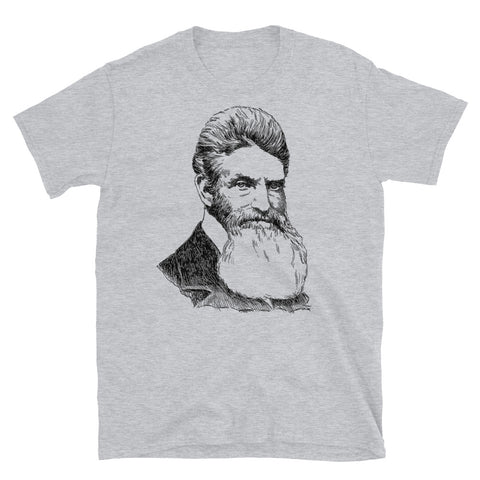 John Brown Sketch - History, Abolitionist, Leftist, Harpers Ferry T-Shirt