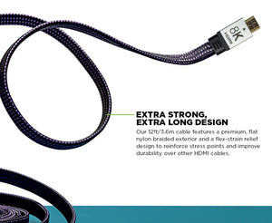 3.6m HDMI 8K Ultra Gaming Cable™