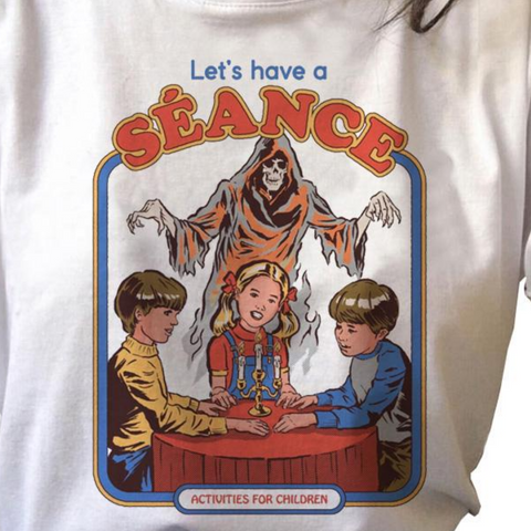Let's Have a Seance Vintage Style Shirt