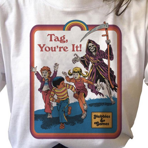Tag, You're It with Satan Vintage Style Shirt