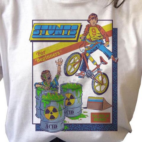 Stunts for Beginners Toxic Waste Vintage Style Shirt