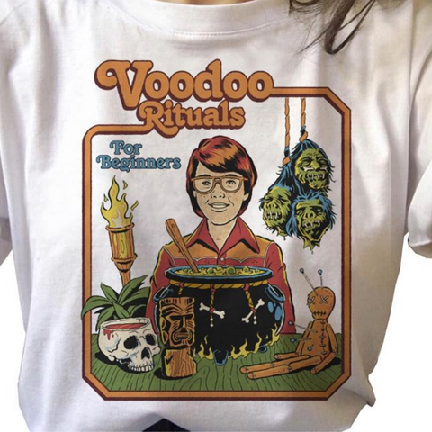Voodoo Rituals for Beginners Vintage Style Shirt
