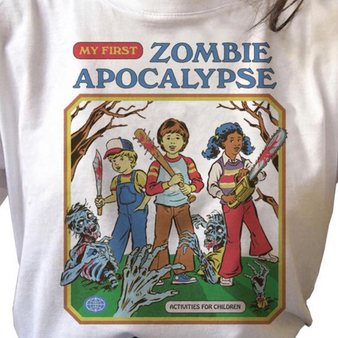 My First Zombie Apocalypse Vintage Style Shirt
