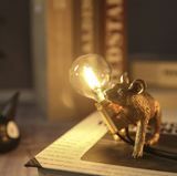 Cute Mouse Lamp [White or Gold]