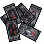 Black and Red Dark Tarot Card Set