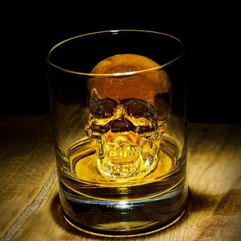 Big Skull Silicone Ice Mold for Whiskey
