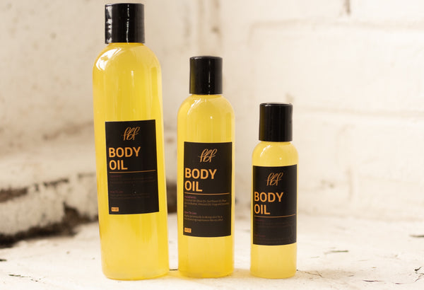"""Bye, Ashy"" FBF Body Oil"