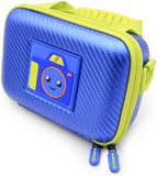 CASEMATIX Toy Camera Case Compatible with VTech Kidizoom Creator Cam Video Camera and Vtech Kidizoom Camera Accessories, Includes Blue Case Only