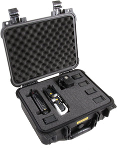 "CASEMATIX 13"" Rugged Waterproof DJI Mavic Air Case - Designed for DJI Mavic Air Fly More Combo , Five Batteries , Battery Charger Charging Hub , Remote Control and More Mavic Air Accessories"