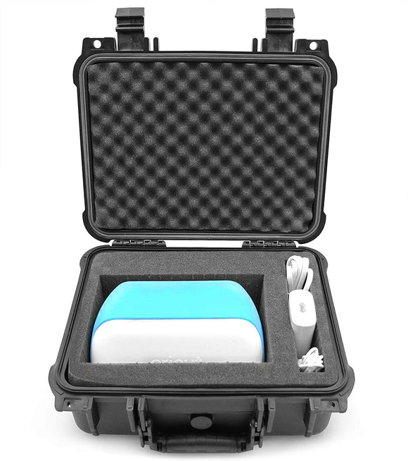 CASEMATIX Waterproof Case for Cricut Joy Machine and Accessories - Airtight Travel Case for Paper Cutting Machine and Accessories - Hard Case Only
