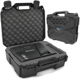 CASEMATIX Projector Travel Case Compatible with ViewSonic PA503S, PA503W, PA503X, PG703W, PG703 Projectors, HDMI Cable and Remote