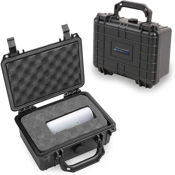 CASEMATIX Carry Case Compatible with Canon PowerShot Zoom Telephoto Monocular Camera – Includes Waterproof Travel Case Only