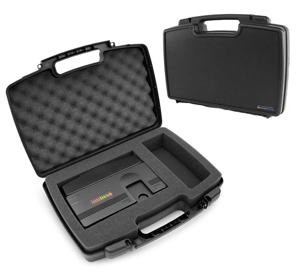 CASEMATIX Gaming Console Protective Case Compatible with Konami TurboGrafx-16 Mini Hardware and Controller, PC Engine CoreGrafx Mini Hard Shell Carrying Case with Foam, Includes Case Only