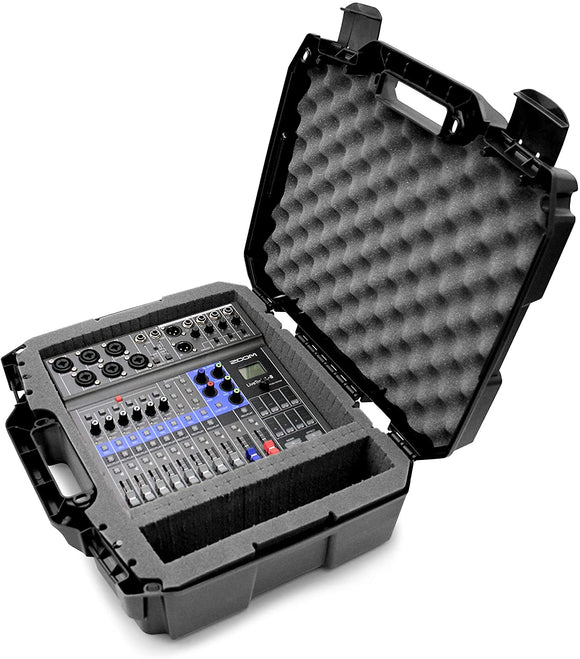 CASEMATIX Studio Travel Case Compatible with Zoom LiveTrak L8 L-8 Digital Mixer Recorder and Select Accessories, Includes Case Only