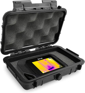 CASEMATIX Waterproof Case Compatible with Flir C5 C2 C3 Thermal Imager, Seek Shot pro, PerfectPrime Infrared Camera with Rugged Exterior