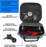 CASEMATIX Travel Case Compatible with Halo Bolt 58830 mWh Laptop Charger and Accessories - Holds Charger, Car Charger, AC Wall Plug & Jumper Cables