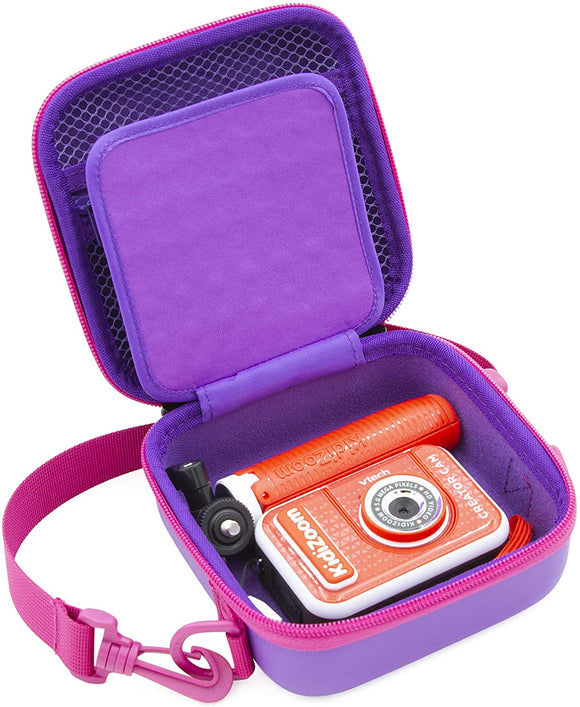 CASEMATIX Kids Camera Case Compatible with VTech KidiZoom Creator Cam Video Camera for Kids and Vtech Kidizoom Camera Accessories, Includes Case Only