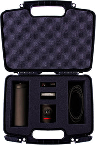 CASEMATIX Protective Hard Camera Case with Custom Foam Compatible with Mevo Camera Live Event Camera and Livestream Accessories