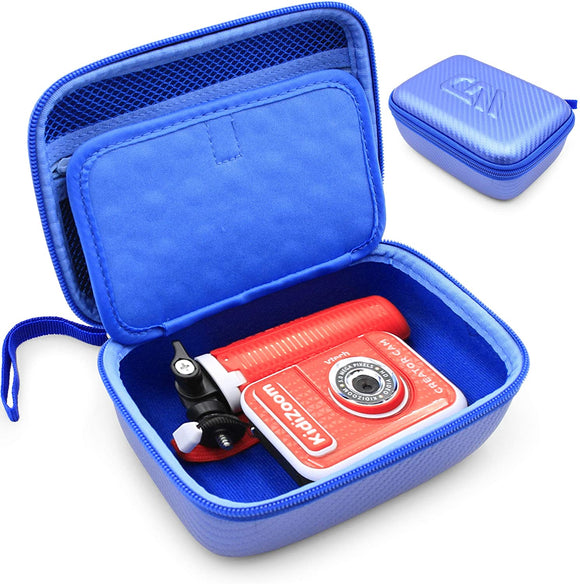 CASEMATIX Toy Camera Case Compatible with VTech KidiZoom Creator Cam Video Camera and Vtech Kidizoom Camera Accessories, Includes Toy Case Only
