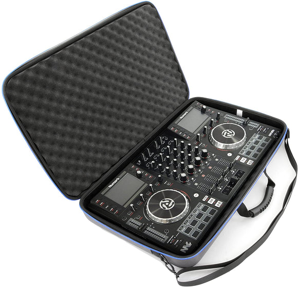 CASEMATIX Protective Studio Case Compatible with Numark NVii Dj Controller, Numark NV or NV2 Serato DJ Controllers