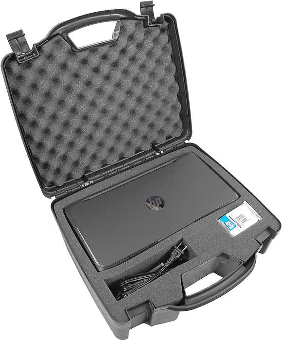 CASEMATIX Portable Printer Carry Case for HP Officejet 200 Wireless Mobile Printer