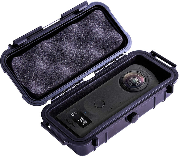 CASEMATIX 7 inch Waterproof 360 Action Camera Case Compatible with Ricoh Theta Z1 360 Degree Camera