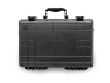 "CASEMATIX 19"" Waterproof Hard Travel Case with Customizable Foam - Fits Accessories up to 17"" x 10.5"" x 3"""
