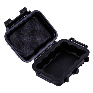 "CASEMATIX 5.75"" Waterproof Hard Travel Case with Rubber and Foam Interior - Fits Accessories up to 3.5"" x 1.87"" x 1.25"""