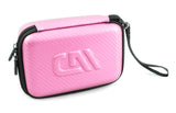 "CASEMATIX 7"" Hard Shell EVA Travel Case with Wrist Strap and Padded Divider - Fits Accessories up to 6.5"" x 4"" x 2"""