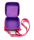 "CASEMATIX 5.25"" Hard Shell EVA Travel Case with Wrist Strap - Fits Accessories up to  4.5"" X 4.5"" X 2"""
