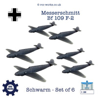 Messerschmitt Bf 109 F-2 (resin print)