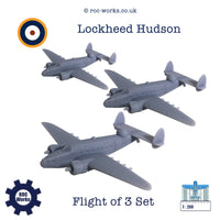 Lockheed Hudson (resin print)