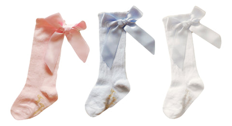 Pretty Originals Ribbon Bow socks