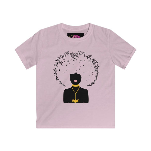 Afro VI Kids Softstyle Tee