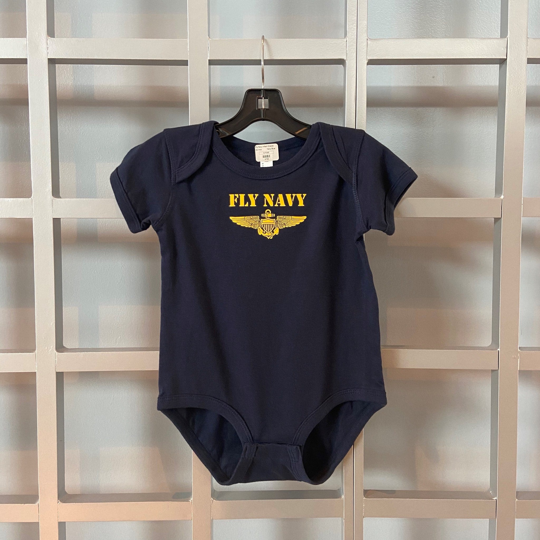 Fly Navy Infant Onesie