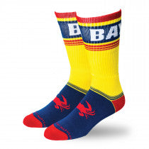 Old Bay Crab Foot Crew Socks
