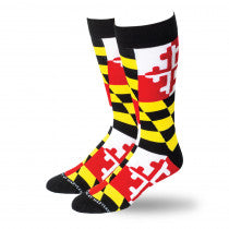 Maryland Flag Socks