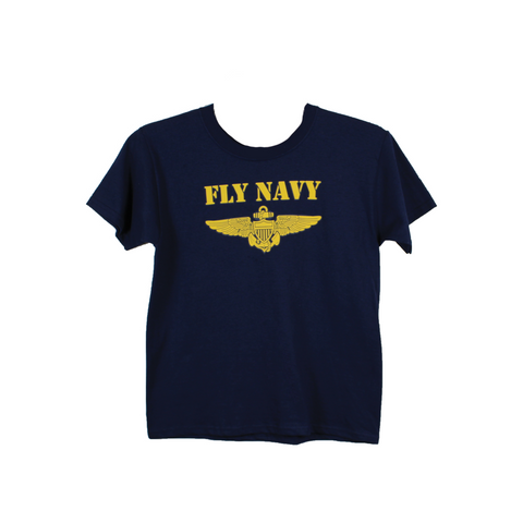 Fly Navy Kids T-Shirt
