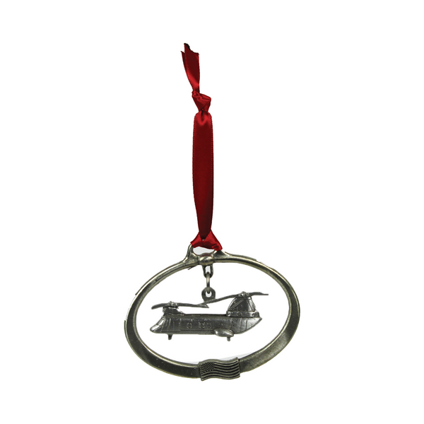 Pewter Aircraft Ornaments