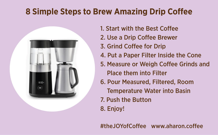 How to Brew Awesome Hot Coffee Using a Drip Machine
