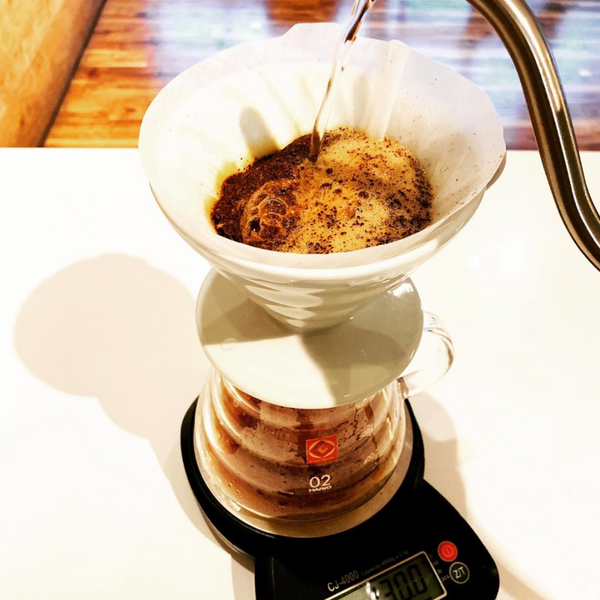 How to Brew Awesome Hot Coffee Using the Hand Pour Over Method