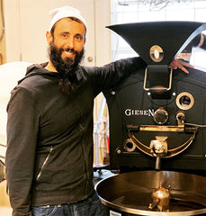 Aharon with Roaster
