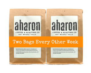 Two Bags Every Other Week Coffee Subscription