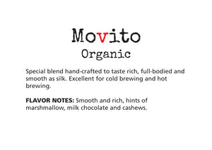 silky, used for turkish brew, cold brew and nitro, earthy, favorite, movito, coffee, subscription