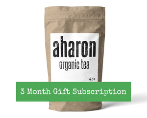 3 months Tea Subscription Gift - 1 bag delivered every month