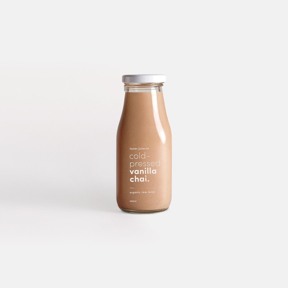 Cold-Pressed Vanilla Chai