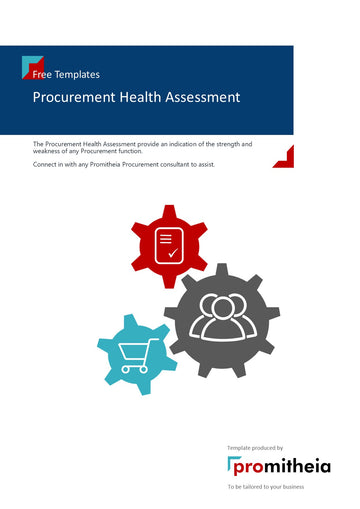 Procurement Health Assessment