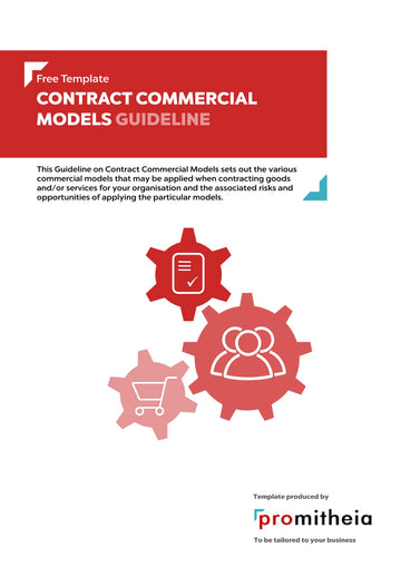Guideline on Contract Commercial Models